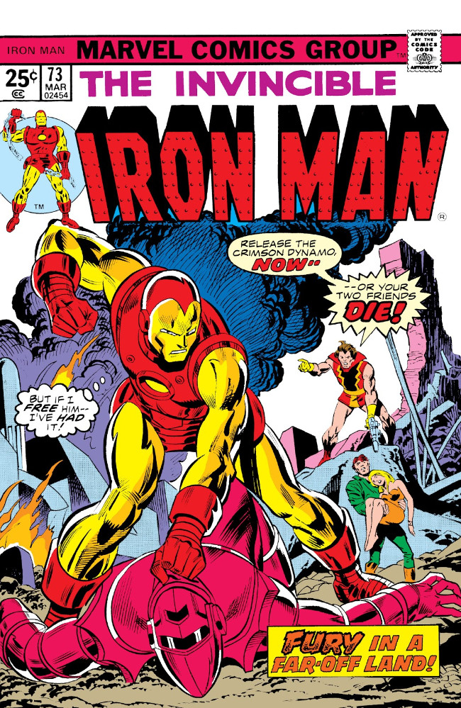 Couverture de Iron Man Vol.1 (Marvel comics - 1968) -73- Turnabout: A Most Foul Play!