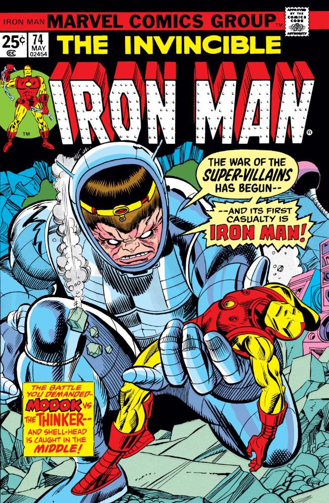 Couverture de Iron Man Vol.1 (Marvel comics - 1968) -74- The Modok Machine!