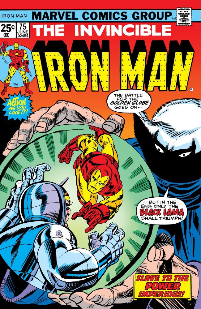 Couverture de Iron Man Vol.1 (Marvel comics - 1968) -75- Slave to the Power Imperious!