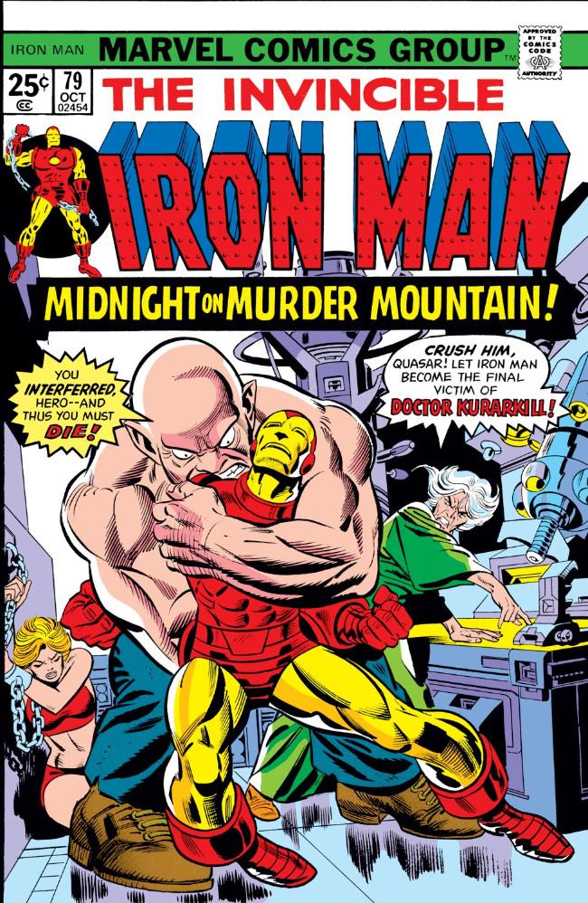 Couverture de Iron Man Vol.1 (Marvel comics - 1968) -79- Midnite on Murder Mountain!