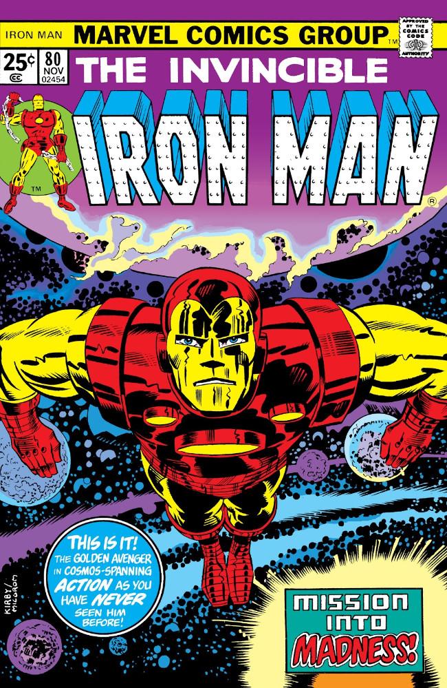 Couverture de Iron Man Vol.1 (Marvel comics - 1968) -80- Mission into Madness!