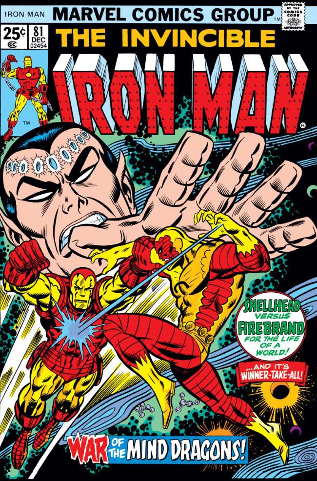 Couverture de Iron Man Vol.1 (Marvel comics - 1968) -81- War of the Mind-Dragons!