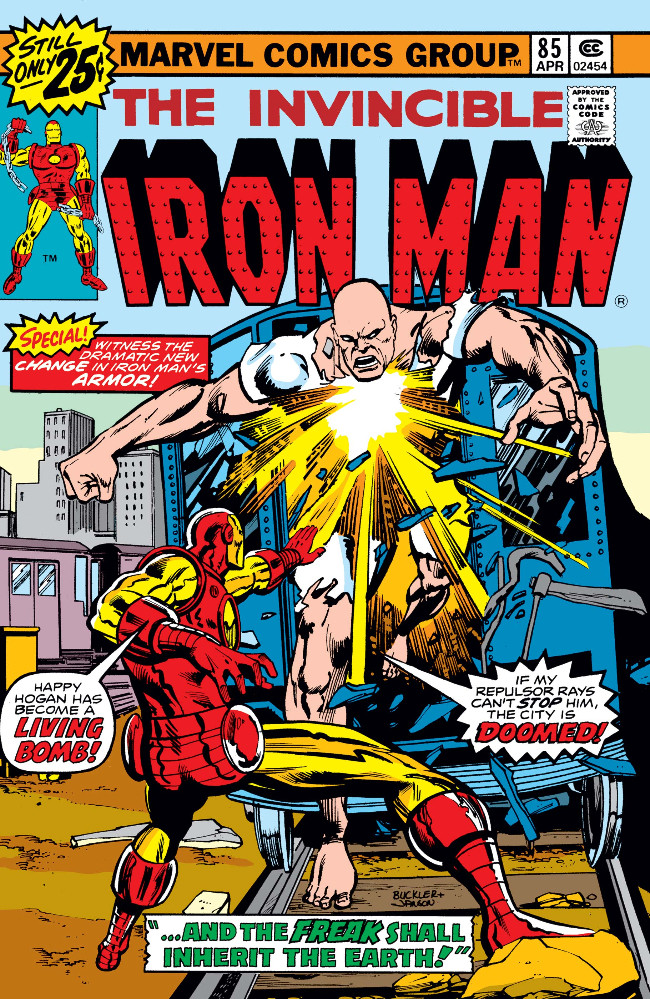 Couverture de Iron Man Vol.1 (Marvel comics - 1968) -85- And the Freak Shall Inherit the Earth!