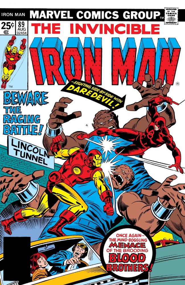 Couverture de Iron Man Vol.1 (Marvel comics - 1968) -89- Brute Force
