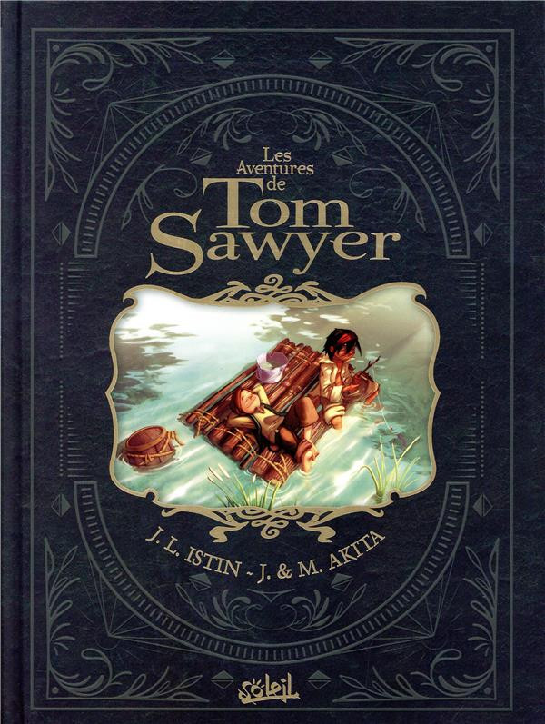 Couverture de Tom Sawyer (Les Aventures de) (Akita/Istin) -INT- Les aventures de Tom Sawyer