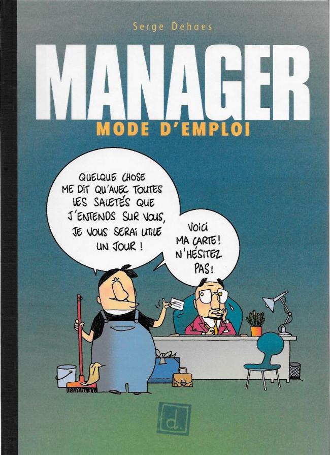 Couverture de Manager mode d'emploi - Tome 3