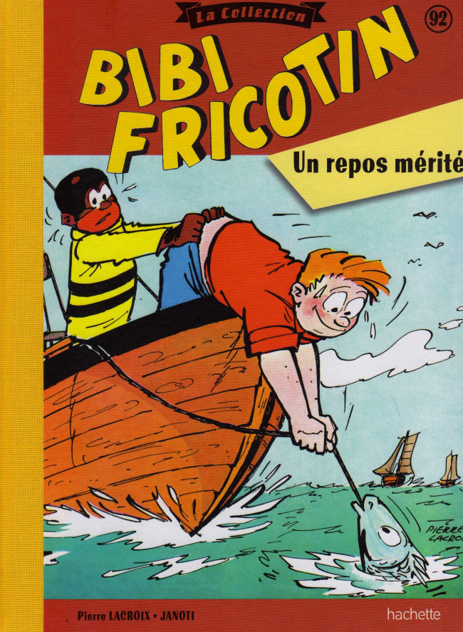 Couverture de Bibi Fricotin (Hachette - la collection) -92- Un repos mérité