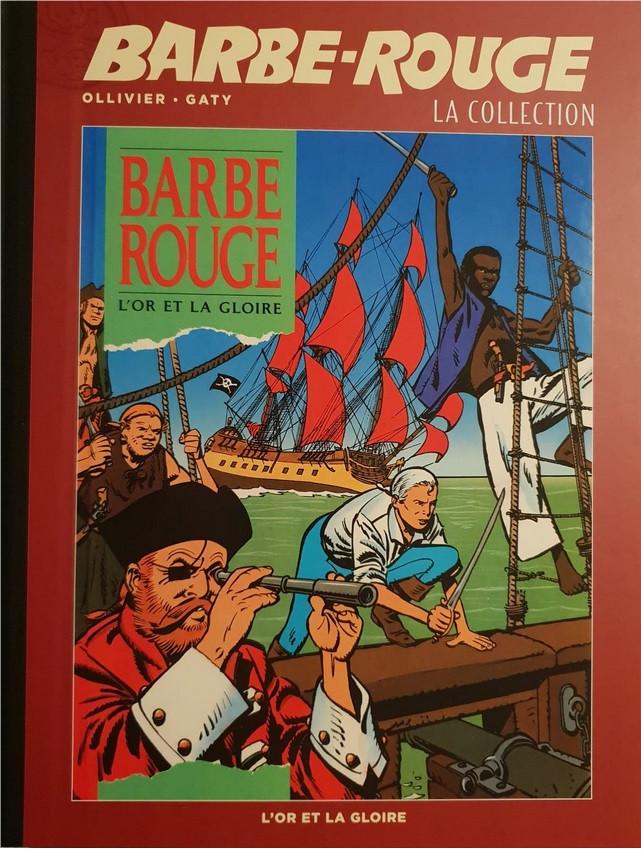 Couverture de Barbe-Rouge (Eaglemoss) -29- L'Or et la Gloire