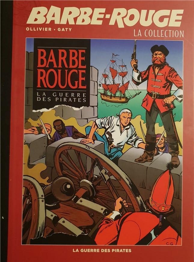 Couverture de Barbe-Rouge (Eaglemoss) -30- La Guerre des Pirates