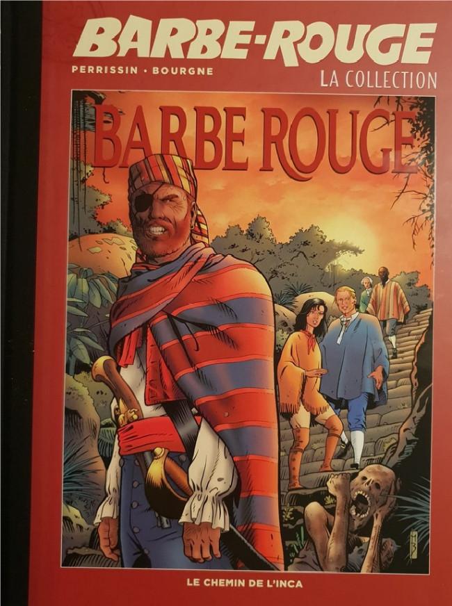 Couverture de Barbe-Rouge (Eaglemoss) -32- Le Chemin de l'Inca