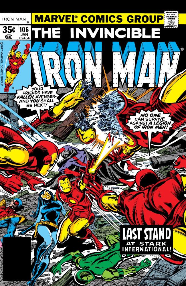 Couverture de Iron Man Vol.1 (Marvel comics - 1968) -106- Then There Came a War!