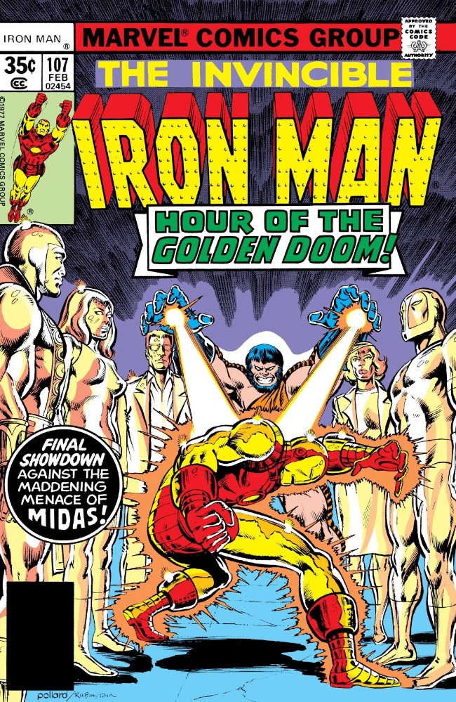 Couverture de Iron Man Vol.1 (Marvel comics - 1968) -107- And in the End...