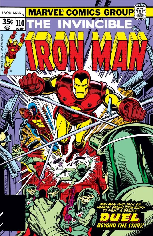 Couverture de Iron Man Vol.1 (Marvel comics - 1968) -110- Sojourners Through Space!