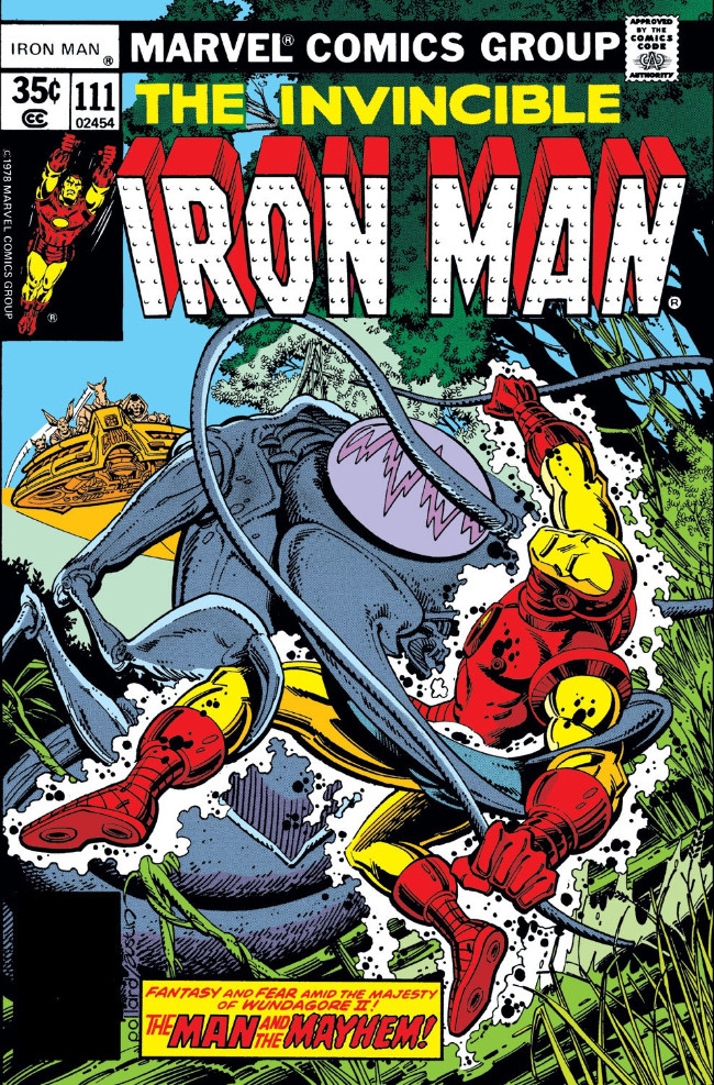 Couverture de Iron Man Vol.1 (Marvel comics - 1968) -111- The Man, the Metal, and the Mayhem!