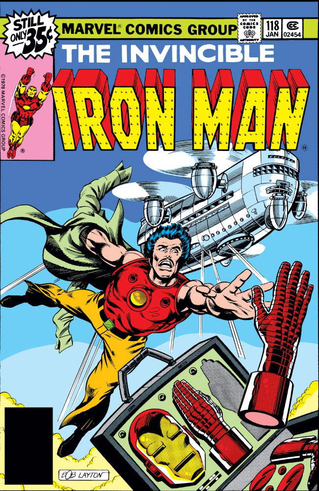 Couverture de Iron Man Vol.1 (Marvel comics - 1968) -118- At the Mercy of My Foes Friends!
