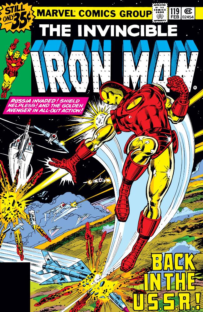Couverture de Iron Man Vol.1 (Marvel comics - 1968) -119- No S.H.I.E.L.D. To Protect Me!