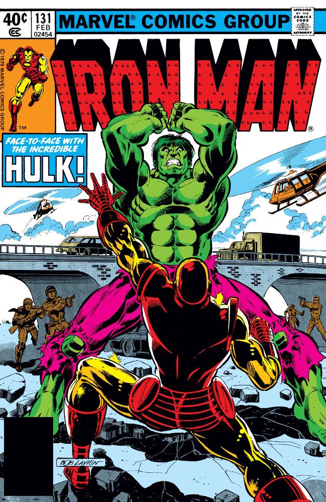 Couverture de Iron Man Vol.1 (Marvel comics - 1968) -131- Hulk Is Where the Heart Is!