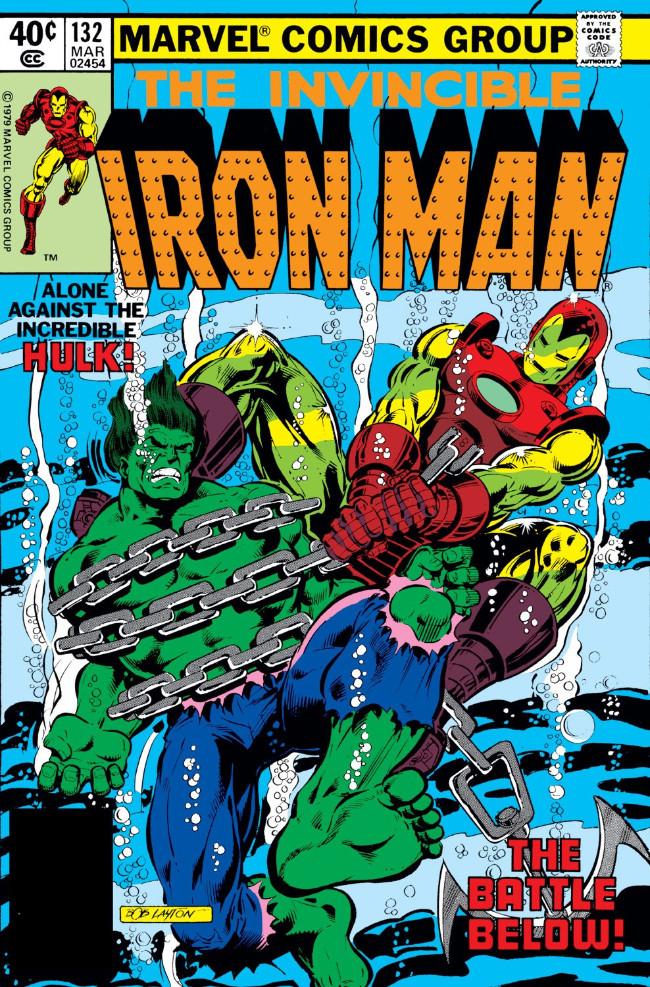 Couverture de Iron Man Vol.1 (Marvel comics - 1968) -132- The Man Who Would Be Hulk