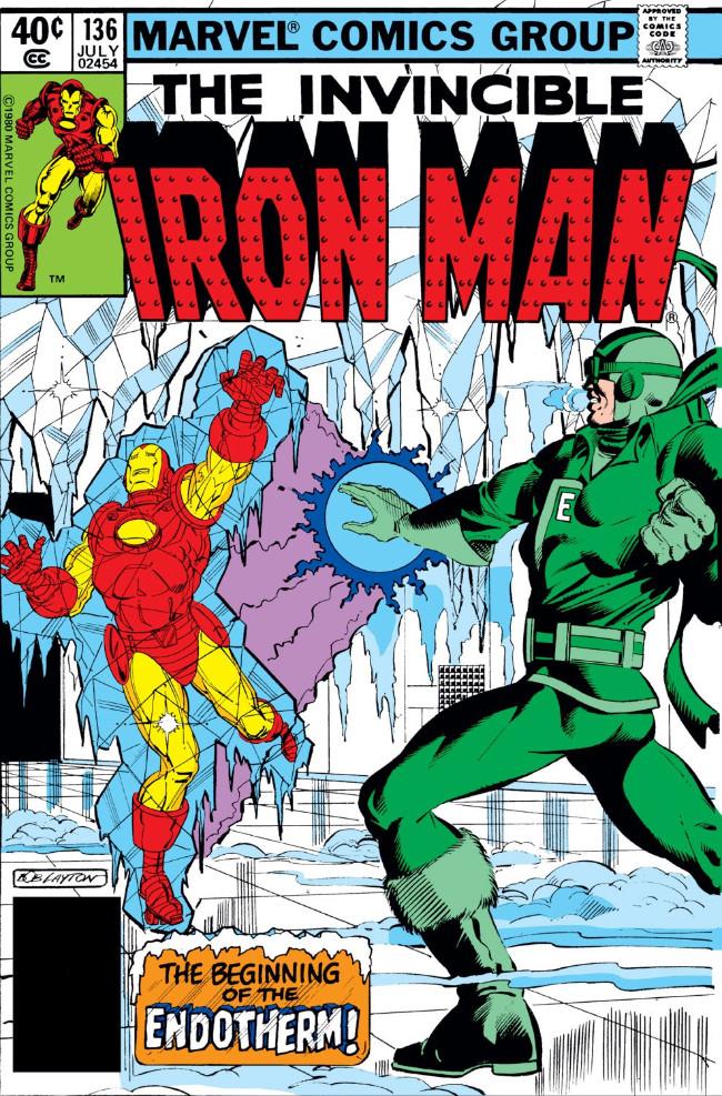 Couverture de Iron Man Vol.1 (Marvel comics - 1968) -136- The Beginning of Endotherm
