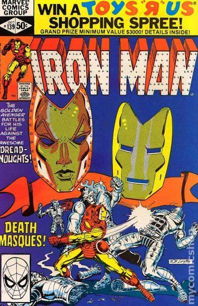 Couverture de Iron Man Vol.1 (Marvel comics - 1968) -139- Chapter III: Facades, Ruses, and Masques