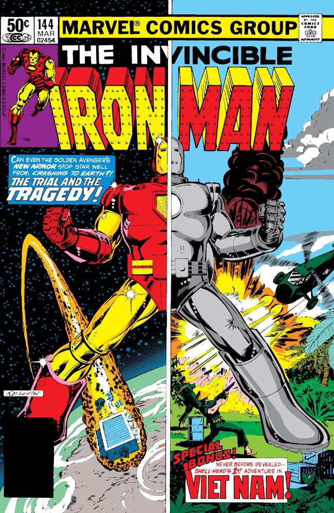 Couverture de Iron Man Vol.1 (Marvel comics - 1968) -144- Sunfall