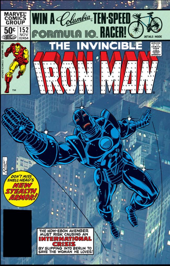 Couverture de Iron Man Vol.1 (Marvel comics - 1968) -152- Escape from Heaven's Hand!