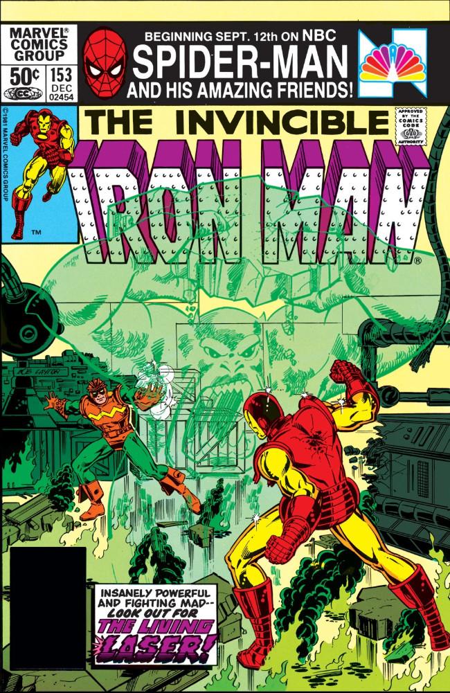 Couverture de Iron Man Vol.1 (Marvel comics - 1968) -153- Light Makes Right!