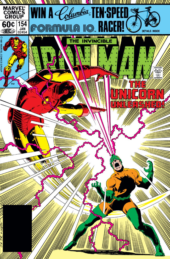 Couverture de Iron Man Vol.1 (Marvel comics - 1968) -154- The Other Side of Madness!