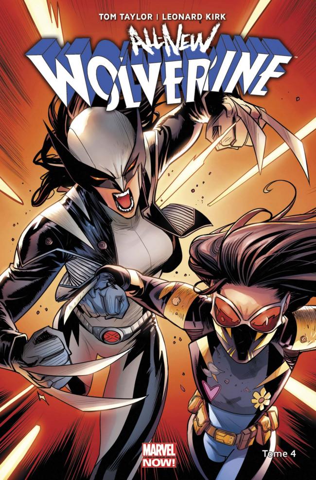 Couverture de All-New Wolverine -4- Immunisée