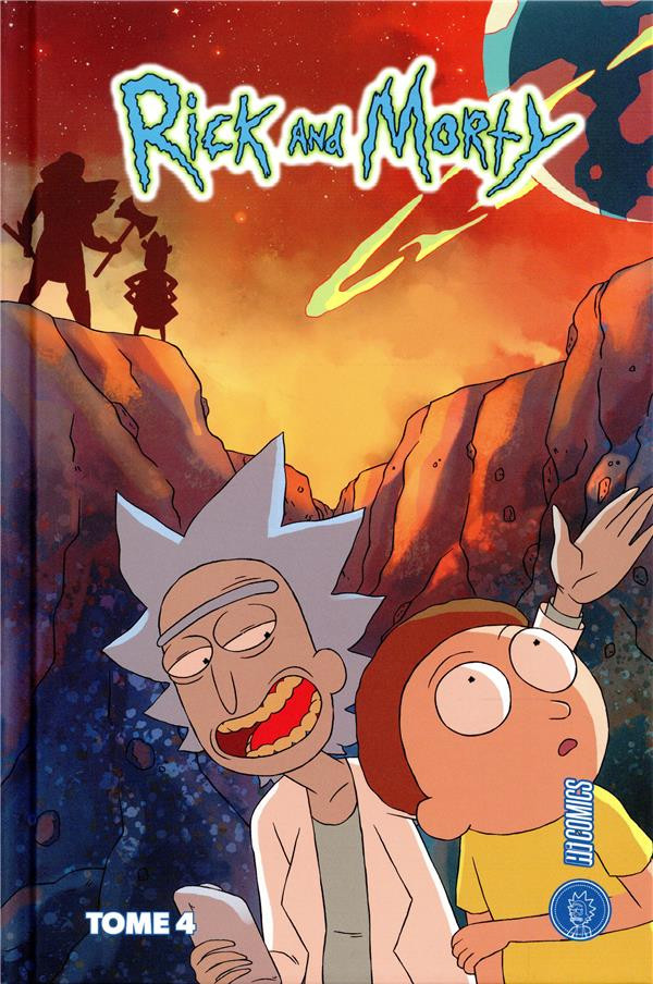 Couverture de Rick and Morty -4- Tome 4