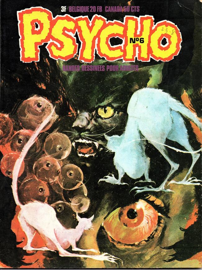 Couverture de Psycho -6- Numéro 6