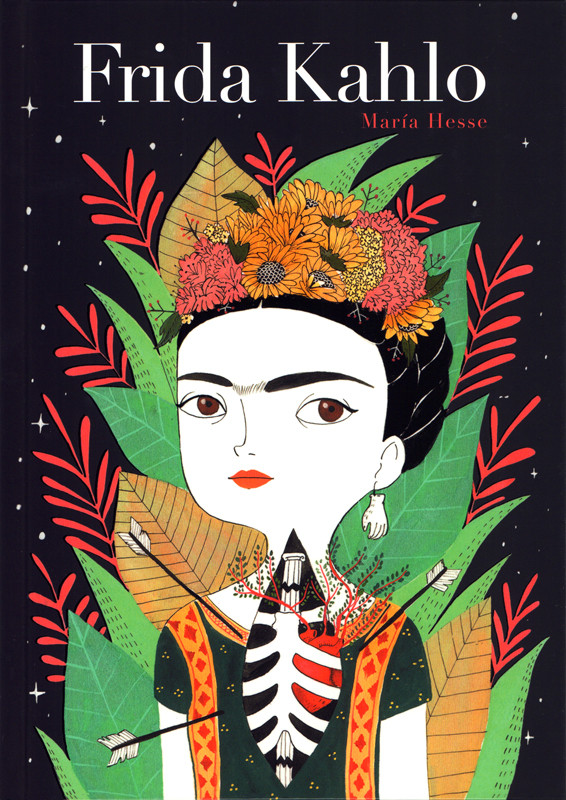 Couverture de Frida Kahlo