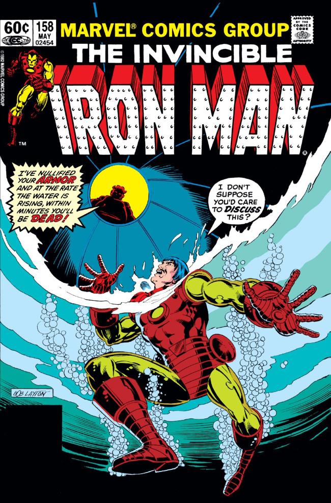 Couverture de Iron Man Vol.1 (Marvel comics - 1968) -158- Moms