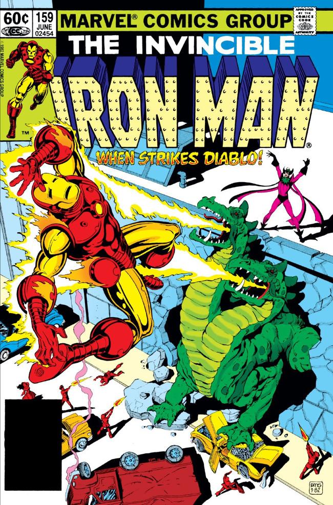 Couverture de Iron Man Vol.1 (Marvel comics - 1968) -159- When Strikes Diablo!