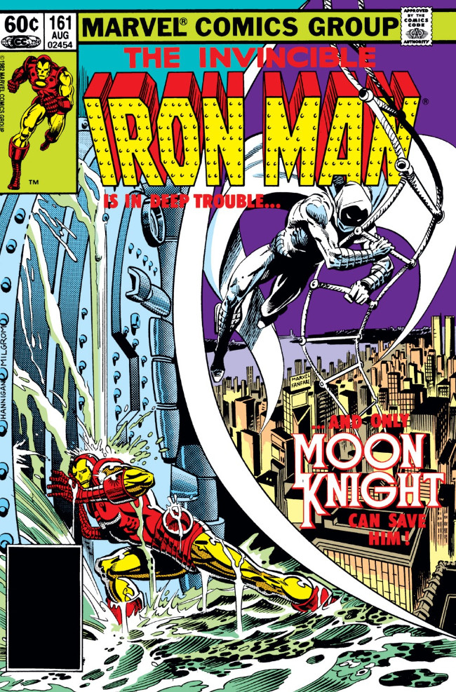 Couverture de Iron Man Vol.1 (Marvel comics - 1968) -161- If The Moonman Should Fail!