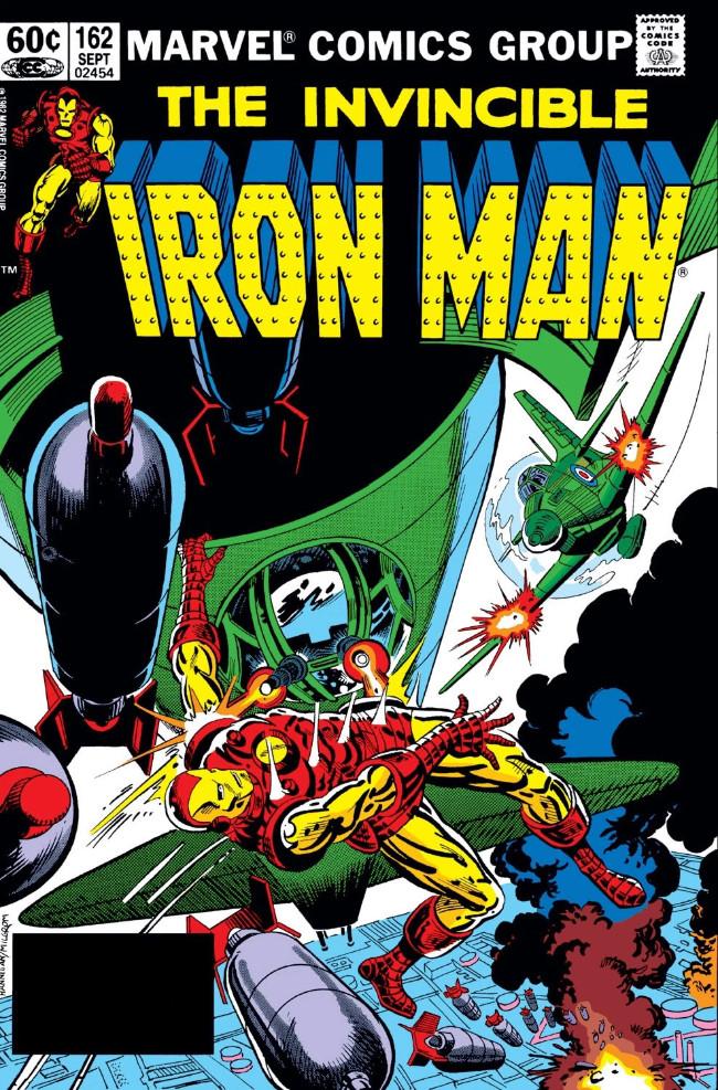 Couverture de Iron Man Vol.1 (Marvel comics - 1968) -162- The Menace Within!