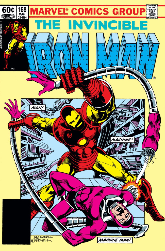 Couverture de Iron Man Vol.1 (Marvel comics - 1968) -168- The Iron Scream