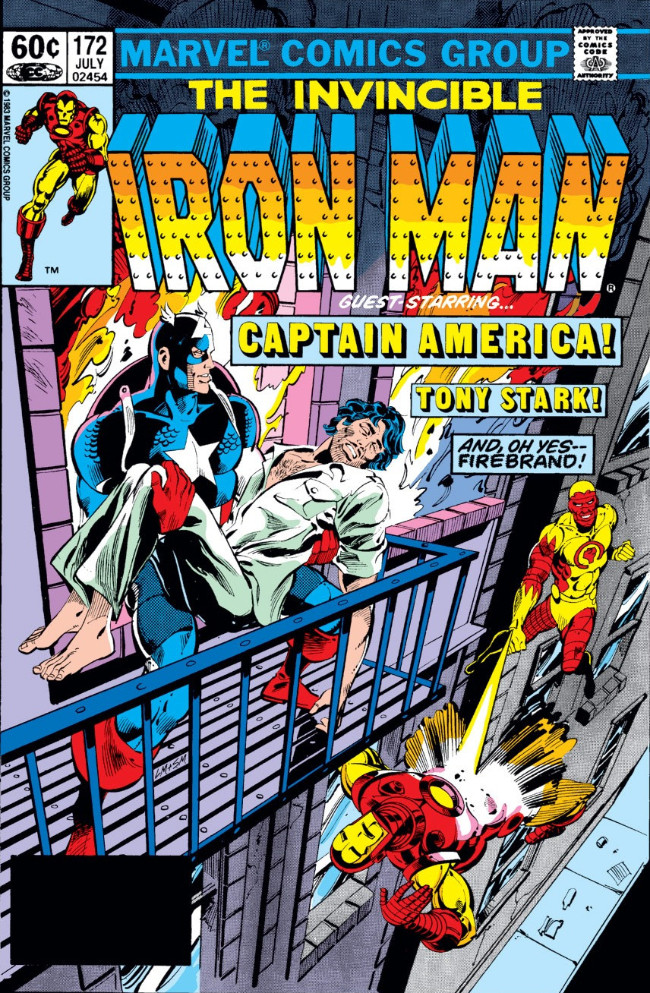 Couverture de Iron Man Vol.1 (Marvel comics - 1968) -172- Firebrand's Revenge
