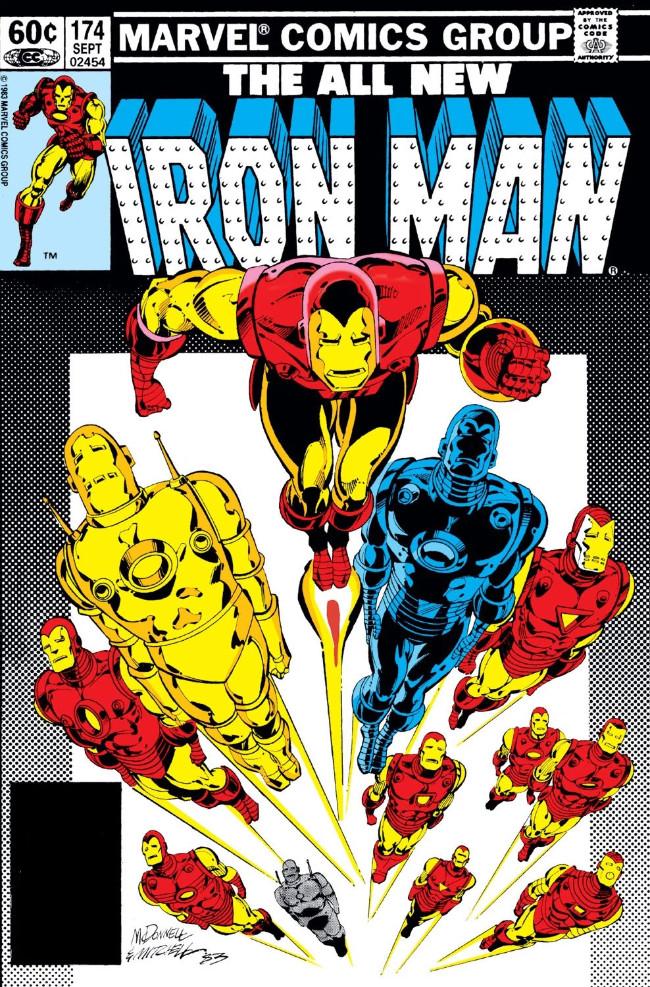 Couverture de Iron Man Vol.1 (Marvel comics - 1968) -174- Armor Chase
