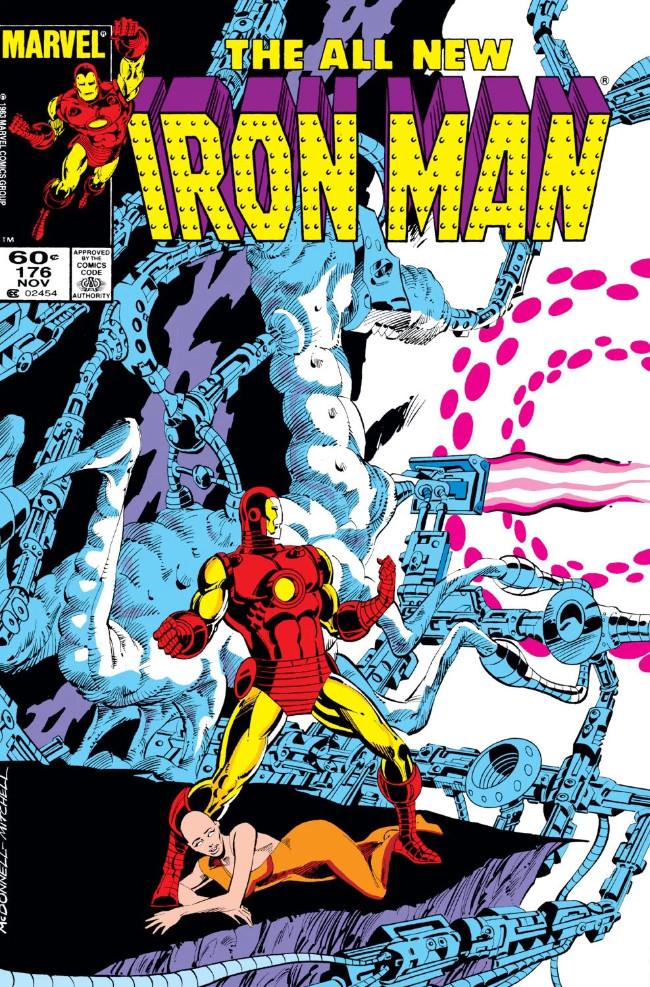 Couverture de Iron Man Vol.1 (Marvel comics - 1968) -176- Turf