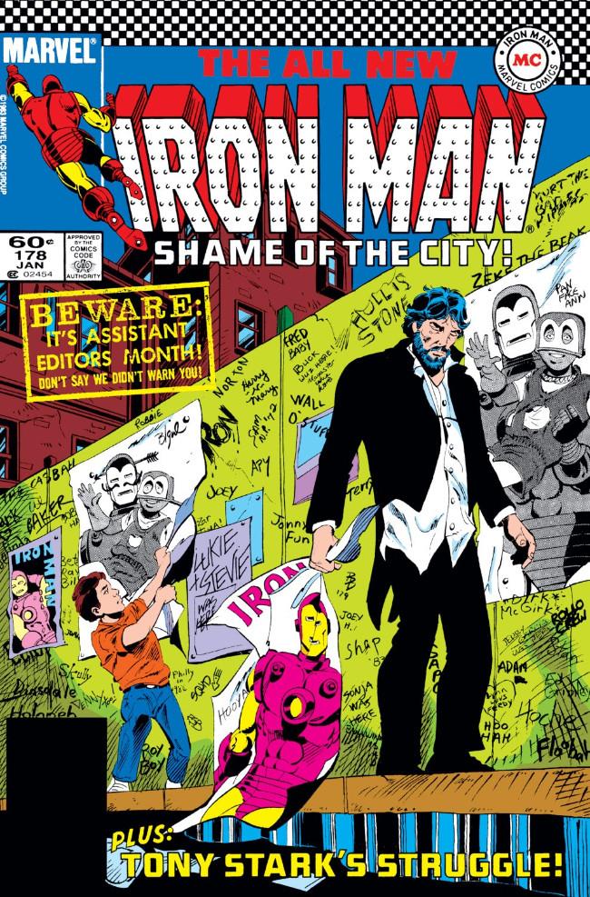Couverture de Iron Man Vol.1 (Marvel comics - 1968) -178- Once and Avenger, Always an Avenger!