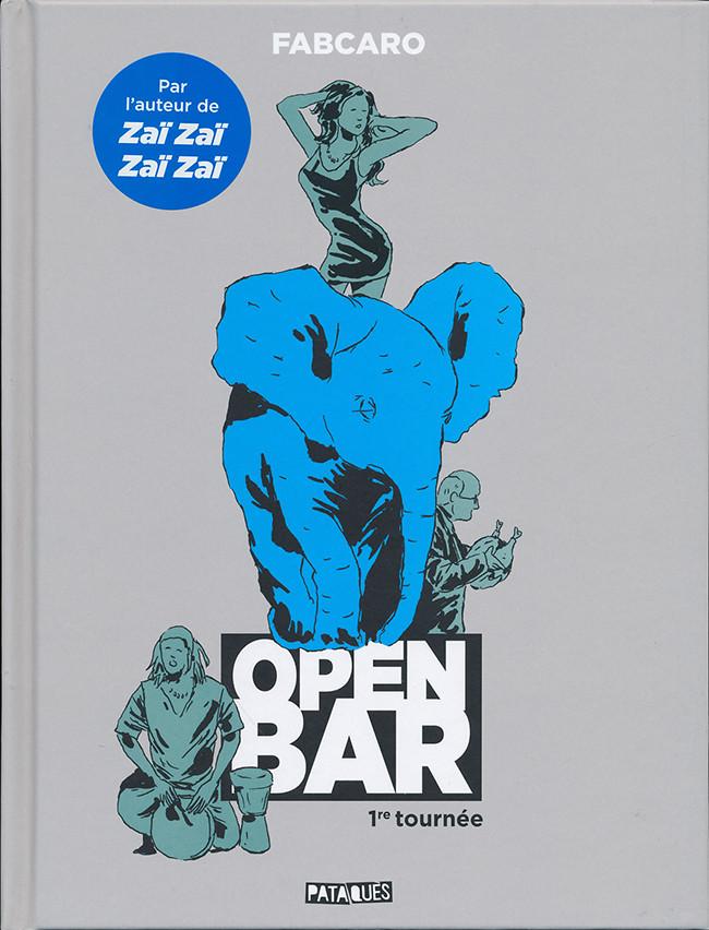 Couverture de Open Bar -1- 1re tournée