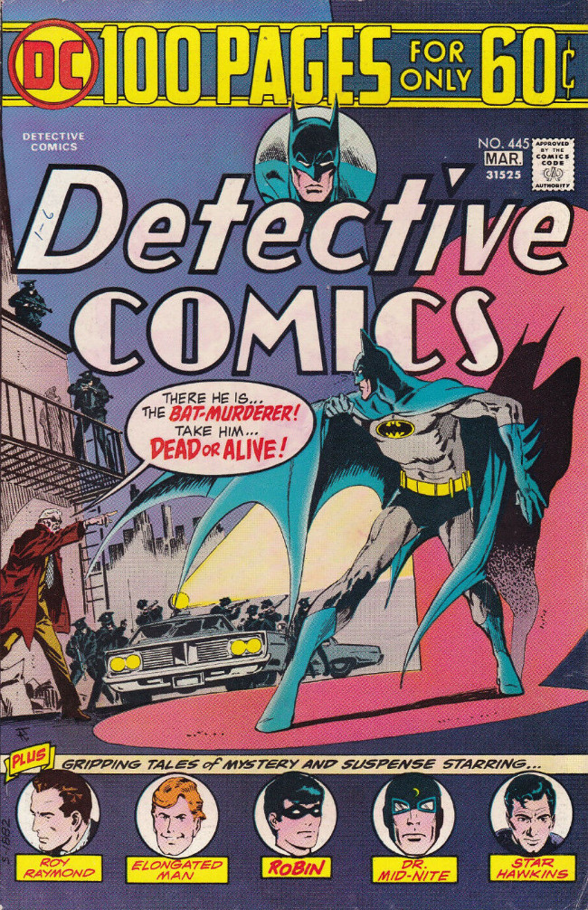 Couverture de Detective Comics Vol 1 (1937) -445- Break-In at the Big House