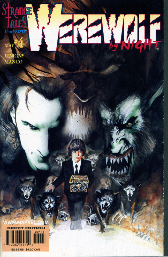 Couverture de Werewolf By Night (1998) -4- The end of the line