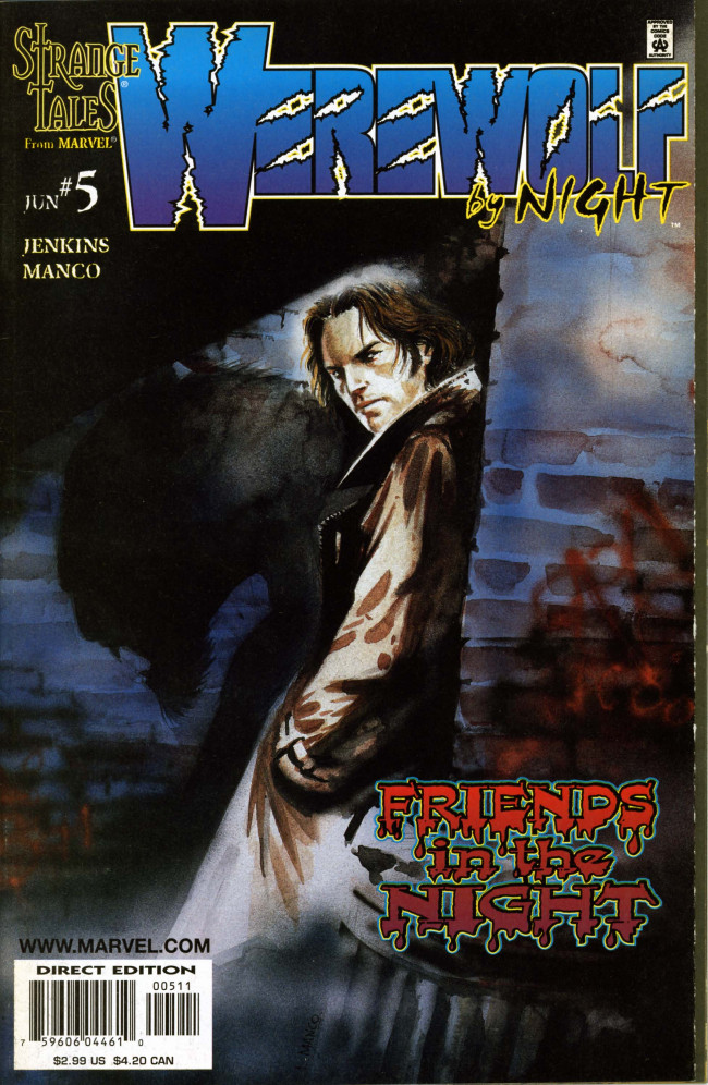 Couverture de Werewolf By Night (1998) -5- New face revealed