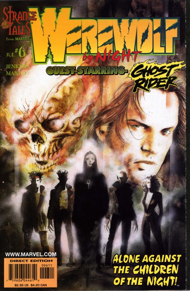 Couverture de Werewolf By Night (1998) -6- Love is colder than death part 1