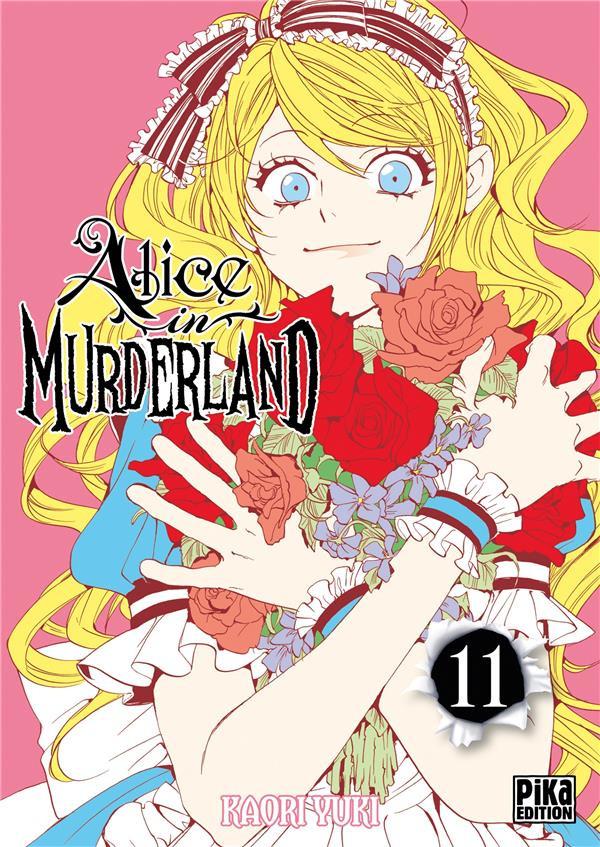 Couverture de Alice in murderland -11- Tome 11