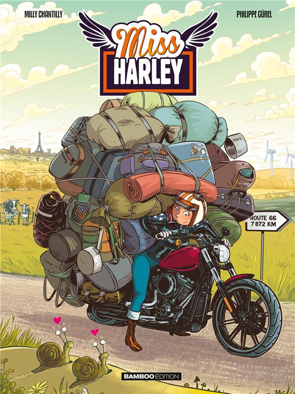 Couverture de Miss Harley -2- Miss Harley 2
