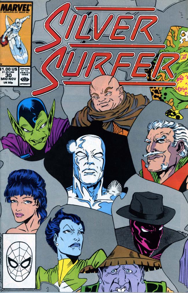Couverture de Silver Surfer Vol.3 (Marvel comics - 1987) -30- A.I. -YI-YI!!!