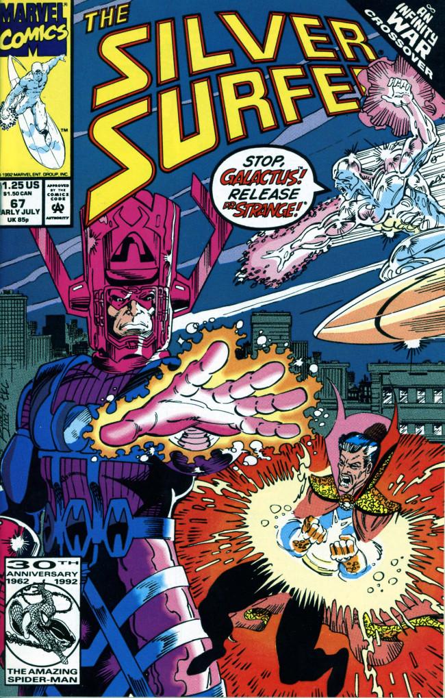 Couverture de Silver Surfer Vol.3 (Marvel comics - 1987) -67- Sins of the fathers